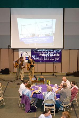 Relay For Life 2008-Survivor Dinner-South Brazoria