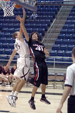 Legacy Varsity BB vs Midland Lee - 2010
