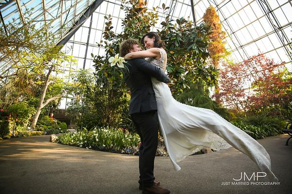 Jaret + Lonnie Wedding