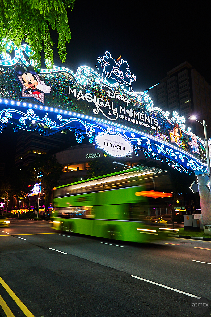 Holiday Decorations, Orchard Road - Singapore
