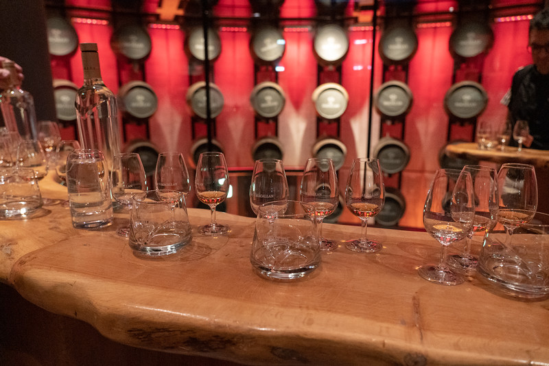 Tasting at The Macallan Distillery