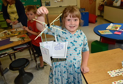 Second Grade Character Trait Mobiles photos by Gary  Baker