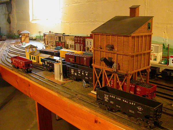 Hand Made O Gauge Train Set