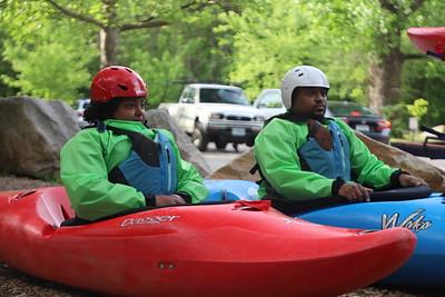 Whitewater Kayak Intro - 5/7/21 - 8am JK