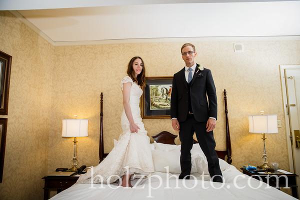 Tina & Andrew Color Wedding Photos