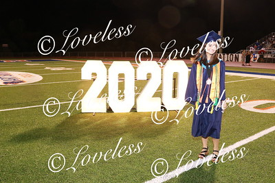 Graduation- class of 2020- on the field