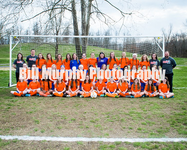2018 Marshall County Middle School Girls Soccer
