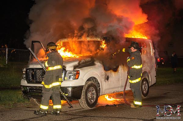 Detroit MI, Vehicle Fire 7-2-2021