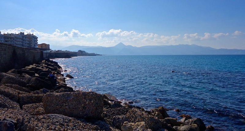 Heraklion coastline