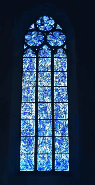 Chagall windows - St. Stephen's Church, Mainz, Germany