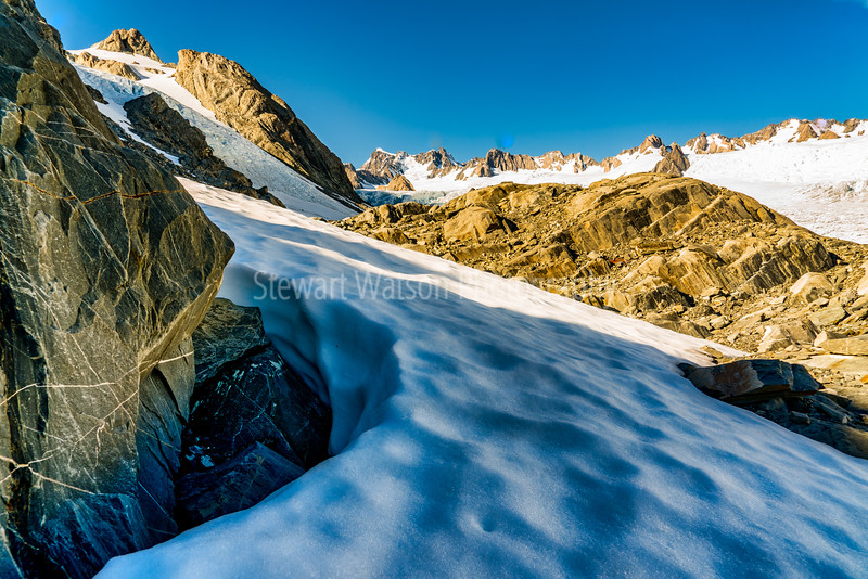 Wandering around the Southern Alps of New Zealand on Franz Josef Glacier Westland National Park