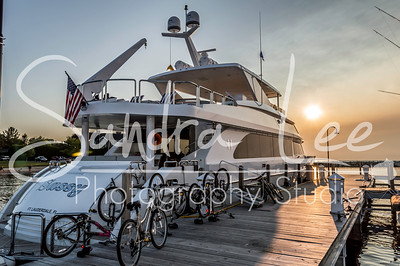 "Sunset with Sandra Lee aboard ""Sassy"" Hargrave Custom Yacht"