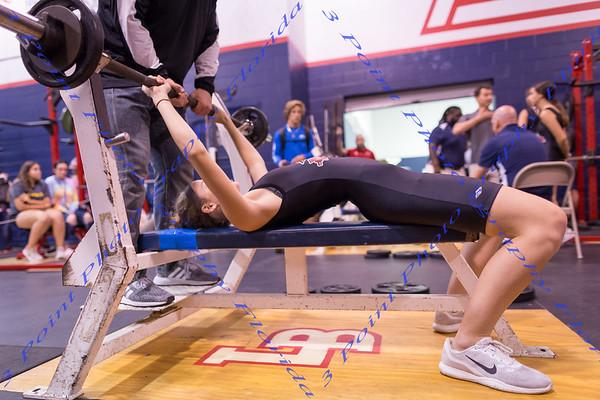 LMHS Girls Weightlifting vs LBHS - Nov 7, 2018