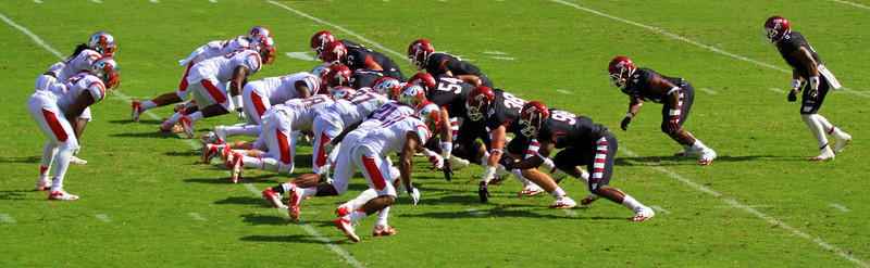 Temple on offense