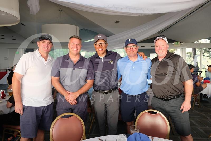 Tom James, Scott Firestone, Juan Iverson, Daniel Bernato and Dan Rynn
