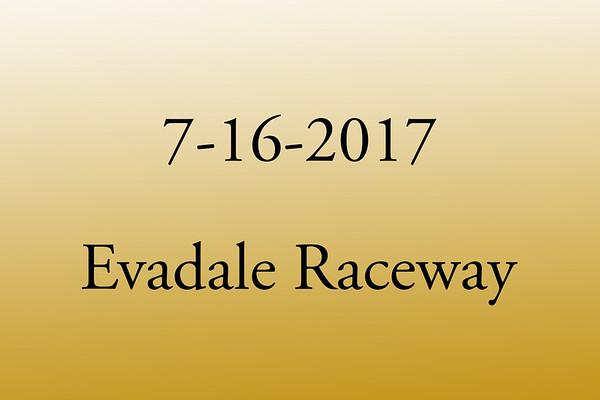 7-16-2017 Evadale Raceway 'Top End No Prep'