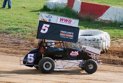 Clinton County 06-19-09  Micro Sprints
