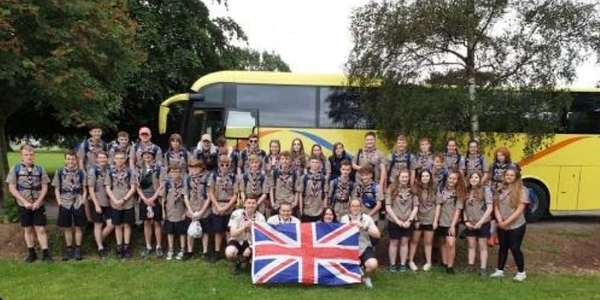 2019-07-20 Leaving for the World Scout Jamboree
