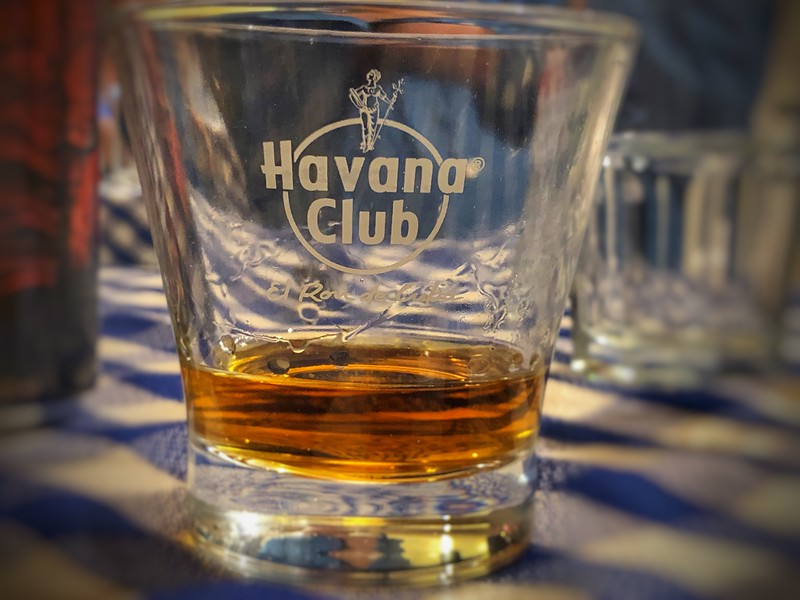 The 10 Year old Havana Club...