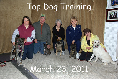 Top Dog Training March 23, 2011 am