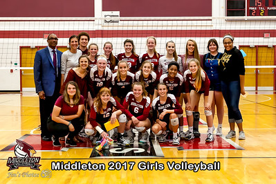 HS Sports - Middleton Girls Volleyball - Oct 03, 2017