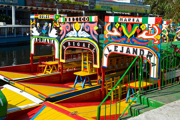 Xochimilco River Boat Ride 020119