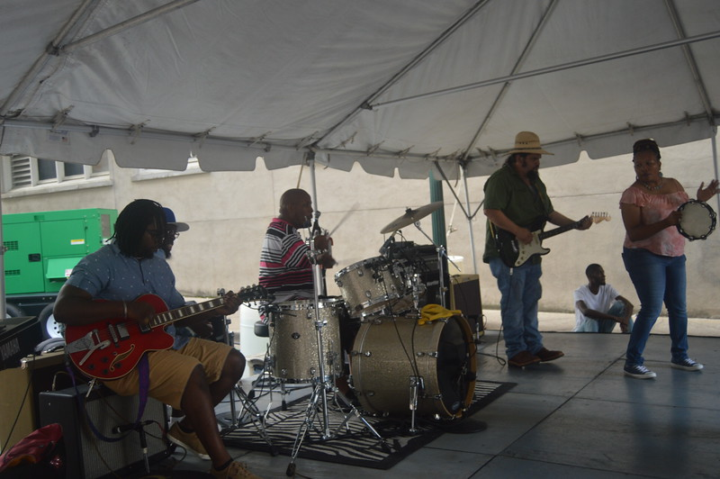 145 Sherena Boyce & Joyce Jones' Band.JPG