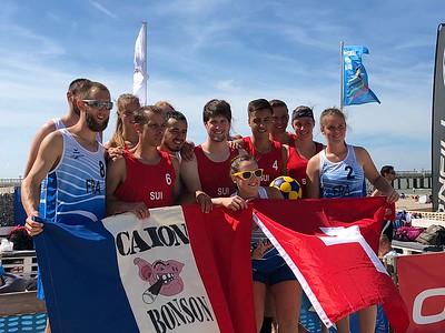Beachkorfball EM 2018