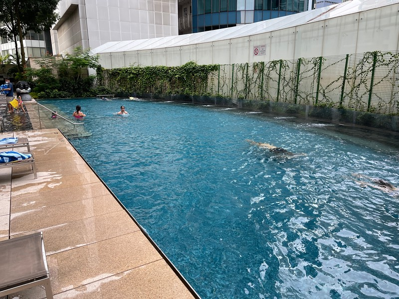 St Regis Singapore Swimming Pool