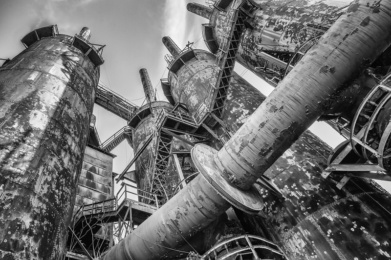 Steel Stacks in Bethlehem, PA.