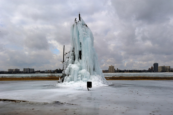 1/27/12 Belle Isle Ice Tree