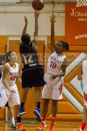 Boone Girls JV Basketball #10 - 2013