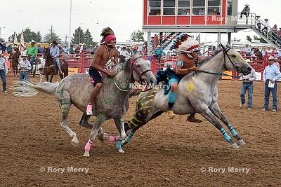 Indian Relay Racing Rodeo