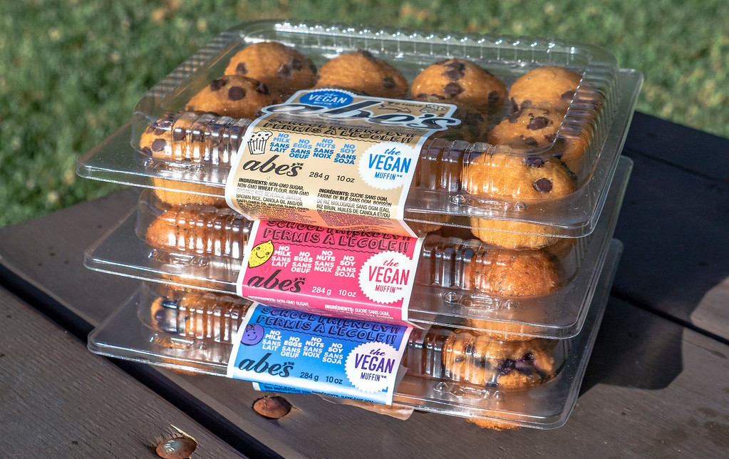 Road trip packing list: Abe's vegan muffins