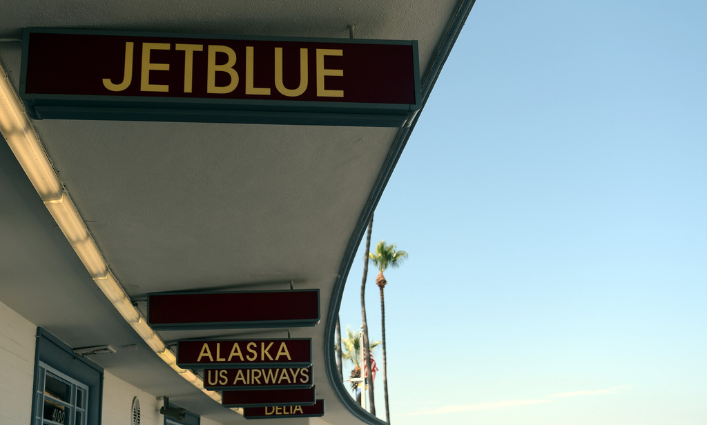 . JetBlu at the Long Beach Airport August 6, 2013. (Thomas R. Cordova/Staff Photographer)