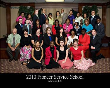 2010 Pioneer Service School