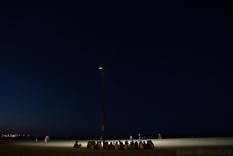 Group at Oak Street Beach