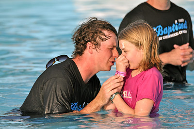 2012 Water Baptism