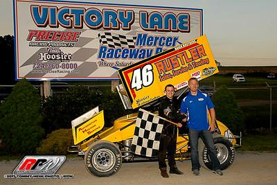 Mercer Raceway Park - 6/10/17 - Tommy Hein
