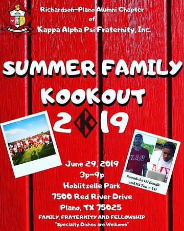 2019 RPA Chapter Family Kookout