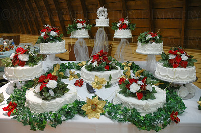 Wedding cakes (lots of them)