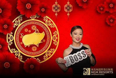 Chinese New Year @ Aria MGM