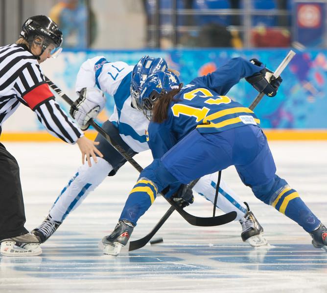 Womens ice hockey finland-sweden