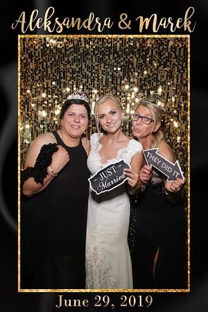 Aleksandra and Marek Wedding Mirror Booth 2019
