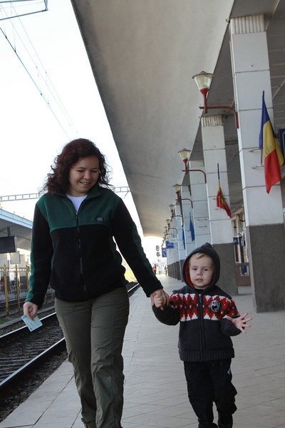 The surprise is releaved, we go by train today :)