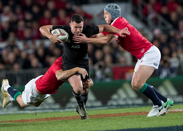 Ryan Crotty during game 7 of the British and Irish Lions 2017 Tour of New Zealand, the first Test match between  The All Blacks and British and Irish Lions, Eden Park, Auckland, Saturday 24th June 2017 (Photo by Kevin Booth Steve Haag Sports)  Images for social media must have consent from Steve Haag