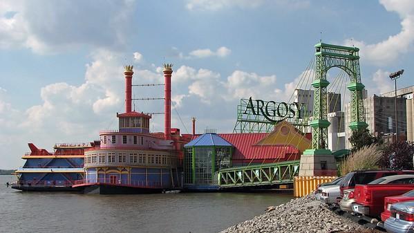 October 7, 2007:  Argosy Casino, Alton, Illinois .  .  .