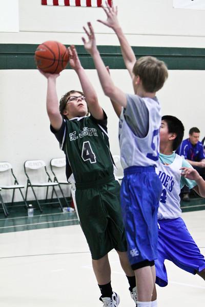 02-09-13 Maumee St Joe's 6th Grade CYO Boys Basketball
