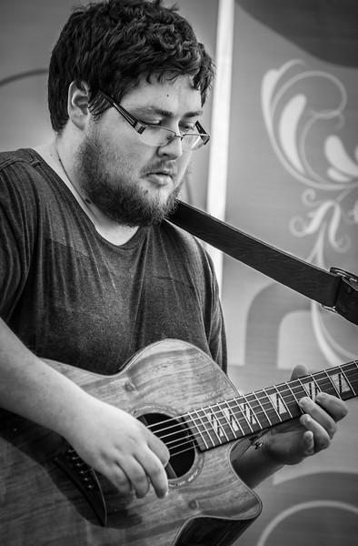 Dave Rupe-Cafe au Lait-Rock Bend Folk Festival 2014