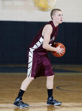 2014 District IX A Boys Basketball Championship Ridgway vs. Elk County Catholic